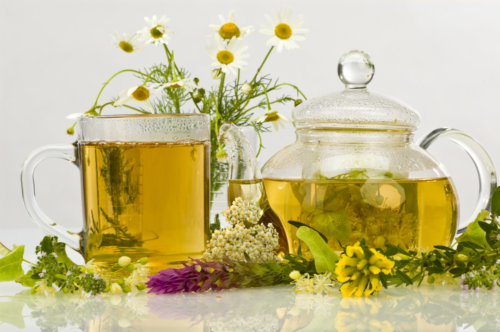 Chamomile tea for psoriasis